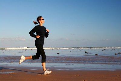 Laufen / Joggen am Strand