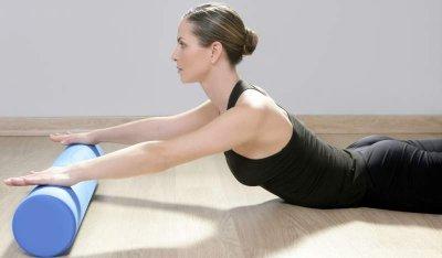 Pilates-Rolle für Fitness und Gymnastik